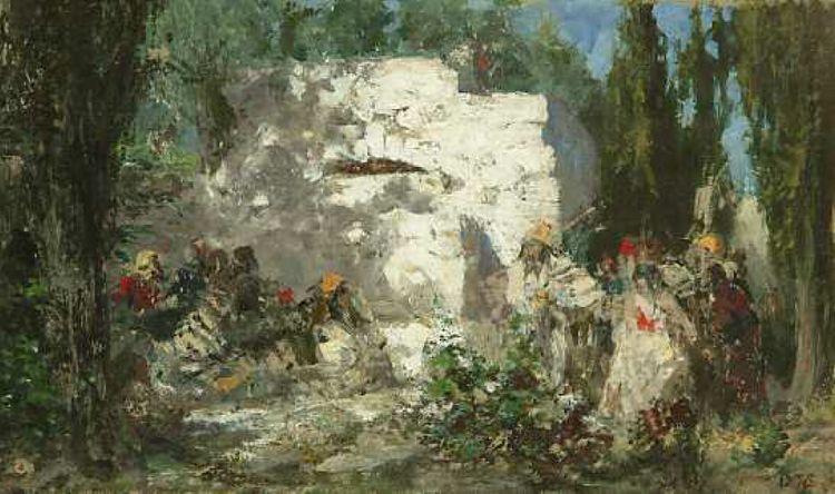 Христос и грешница. В.Д. Поленов. 1876 г.