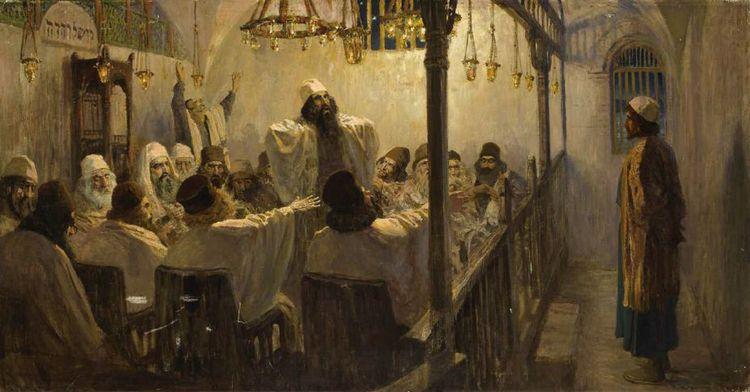 Повинен смерти. В.Д. Поленов. 1906