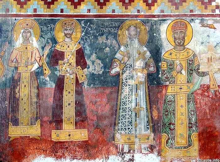 978-1014) был первым царем объединенной грузии